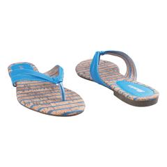 Ladies Bata Casual-Flat Sandals 5719065 Blue 3