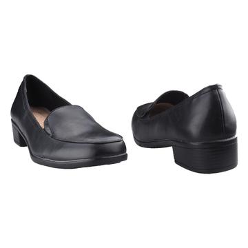 Bata Low Heel Formal Ladies Shoes - Black-6516179 3