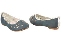 Classic ballerina flats (351-9041) Navy blue 1