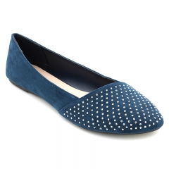 BATA Ladies Casual flat shoes Navy Blue (5519093) 3