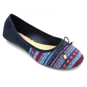 BATA CLASSY LADIES CASUAL BALLERINA SHOE navy blue (5599005) 7