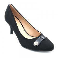 Marie Claire Ladies Formal Shoe Black (751-6059) 3