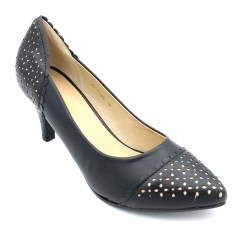 Marie Claire Elegant Ladies Casual Shoe Black (751-6049) 3