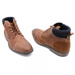BATA Men Formal Office Wear Brown- Brown-8014070 6