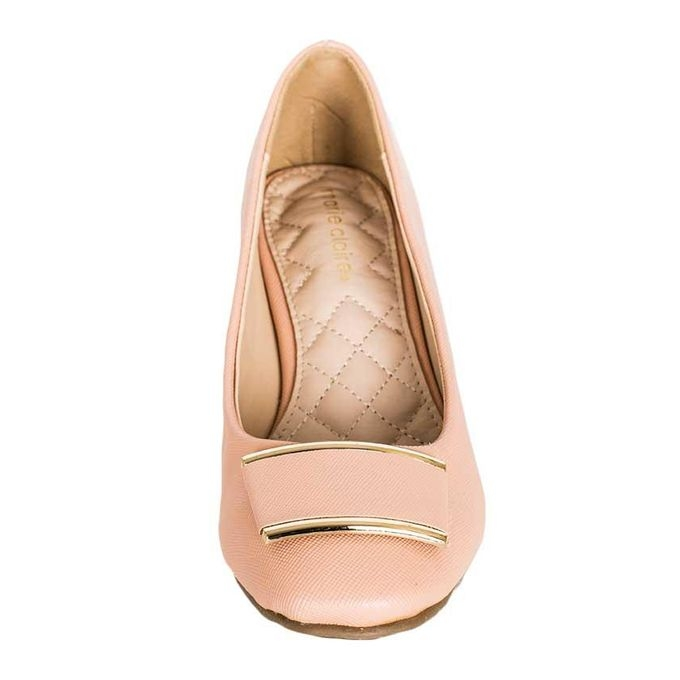 MARIE CLAIRE Baby Pink Ladies  Formal Closed Heels 6510564 . 38 ... dbcc57f29f
