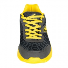Power Grey/Yellow Men's Sports Shoes- 8812275 grey 8