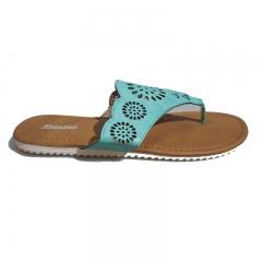 BATA Ladies Classy Sandal- 571-7045 luminous green 36