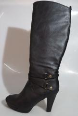 Bata classy woman long boot- 701-6025 black 37