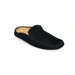 BATA Black Casual Loafers- 851-6653 black 43