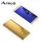 """Anica A7,1.54"""" Super Mini Ultrathin Card Luxury Bluetooth Dailer Dust Scratch Proof Unlock Cellphone Golden"""