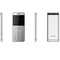 """Ulcool LT1, 2.0"""" Brushed Metal HD Camera Bluetooth Dailer Infrared Light remote Control Mobile Phone Silver"""