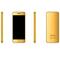 "Ulcool UV6,2.0"" Thin Metal Cover 2.5D Touch Key Mirror Whatsapp Bluetooth dail Remote Control Phone Golden"