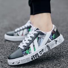 Men Slip-On Shoes Men's Casual Shoes Breathable Canvas Sneakers Shoes For Men black 44