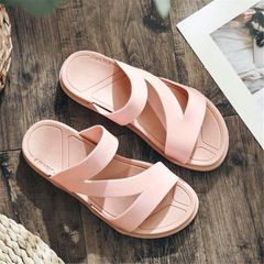 Women's Slippers Summer Beach Shoes are on clearance until they are sold out pink 40