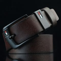 Men's fashion pure cowhide belt Special promotion Until we're sold out 05 coffee one size (125cm)