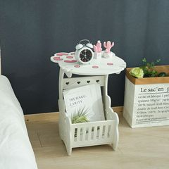 European Style Furniture Small Table Living Room Mini Coffee Table Bedside Table 02 KT cat without cover