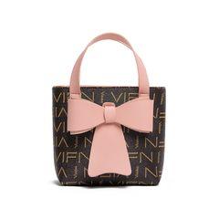 New Women's One-Shoulder Cross-Shoulder Handbag printed bucket bag. Pink 16cm*7cm*16cm