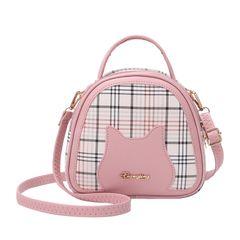 New Style Women Handbags Ladies Shoulder Bags Sling Bags Fashion Bags Pink 19cm*6cm*18cm