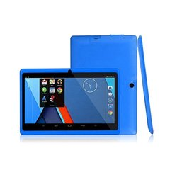 7 Inch Kids Tablets HD 1080P Quad Core Dual Camera Bluetooth Wifi 1G+16G Android 4.4 Games Tablet blue