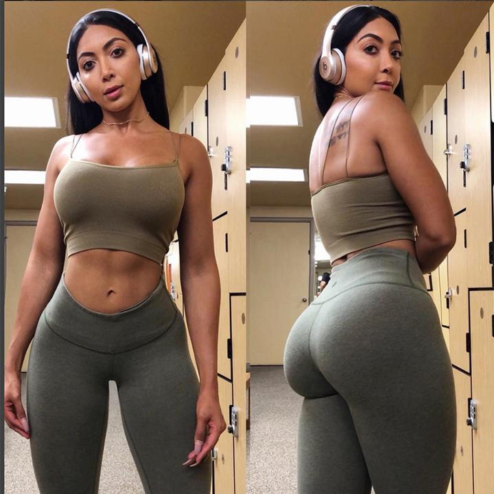 Absorb Sweat Running Vest Women Yoga Gym Fitness Dance Sauna Shapewear Sport Bra Crop Tops Singlets Army green M