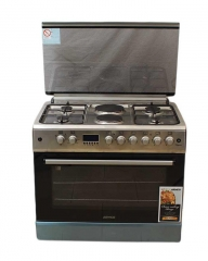 ARMCO GC-F9642VBT(SS) - 4 Gas and 2 Electric Oven + Grill - 60 x 90