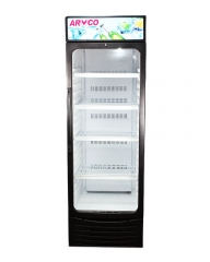 ARMCO Glass Door Showcase Cooler (ASC-250) Black (WxDxH=> 545x640x173
