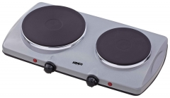ARMCO -S20 Solid Electric Hot Plate, 2 Burner, Grey