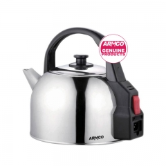 ARMCO AKT-431(SS) - 4.3L - Stainless Steel Electric Kettle - 2200W black and silver