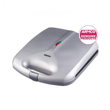 ARMCO 4 Slice Jumbo Sandwich Maker -AST-T4000B - Silver