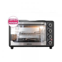 ARMCO AEC-301SX(B) - 30L - Electric Oven with 2 Solid hot Plate black . 1600W