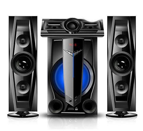 Armco 3.1 Ch 5000W  FM Radio  Bluetooth Satellite Home Theatre AHT-ZX50BT BLACK