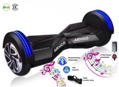 """ARMCO AHB-8B1 8"""": Electric Hover Board, Bluetooth speakers"""