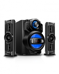 ARMCO AHT-ZX30A: 2.1 CHANNEL, HIGH POWER, 6.5 SUB WOOFER Black