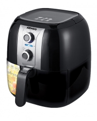 ARMCO ADF-X40AIR2: 2.2L, ELECTRIC FRYER, ADJUSTABLE TEMPERATURE black & silver