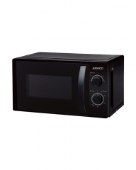 ARMCO -MS2023(BK) Microwave Oven - 20L,Manual Control - 700w - 5 Power levels Black 20L 700w