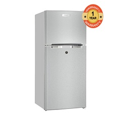 ARMCO ARF-D178(s) - Two Door Refrigerator - 6CuFt - 118L Silver 118l