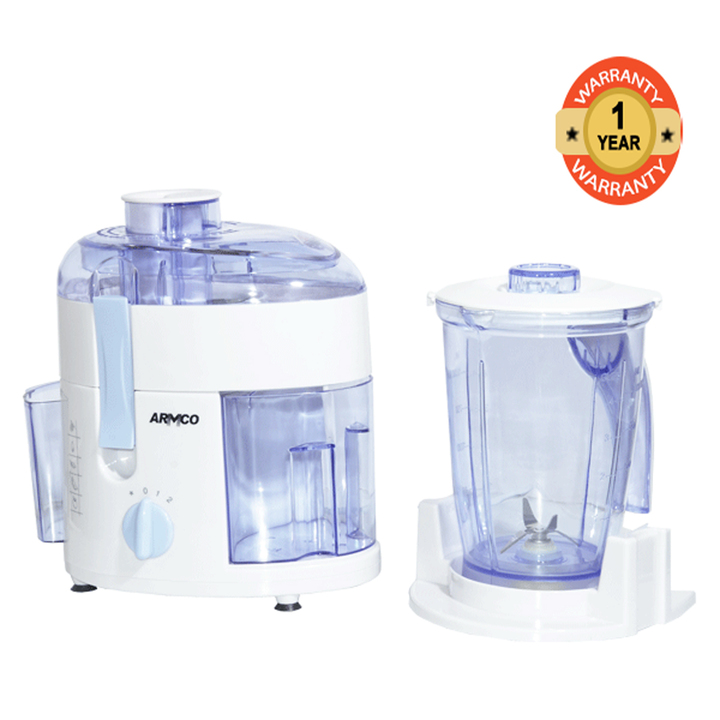 ARMCO 2-in-1 Juice Extractor & Blender AJB-400CG white