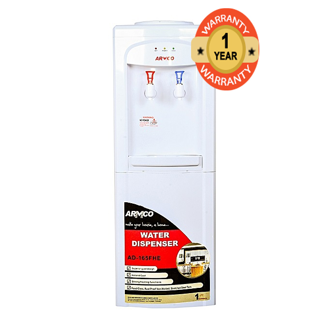 ARMCO AD-165FHE(W) - 16L Water Dispenser - Hot & Cool
