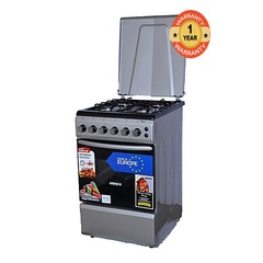 ARMCO GC-F5640PX(SL) - 4Gas - 50X60 - Gas Oven+Grill Silver