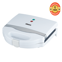ARMCO AST-T1000 - 2 Slice Sandwich Maker white