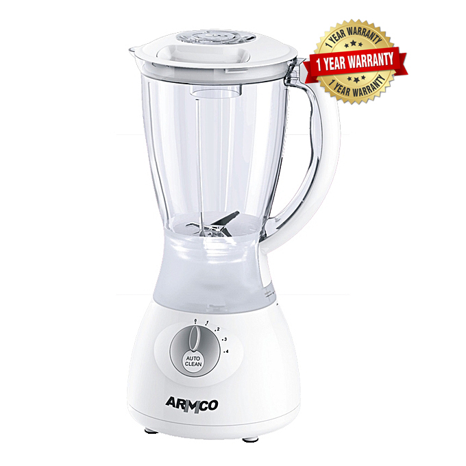 Armco ABL-322SB - 1.5L 4 speed with Pulse Blender 350W white & silver