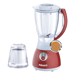 ARMCO ABL-742RX - 1.5L 4 Speed Jug & Mill Blender 400W Red & Silver