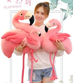 2018 Flamingo Stuffed Plush Toy Flamingo Stuffed Soft Doll Kids Toy Birthday Gift  Kids Girls 1 color 40cm