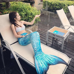 New Mermaid Tail for Swimming Mermaid Swimsuit Adult Female Tail Swimsuit Swim Sexy Thin Princess only tail M