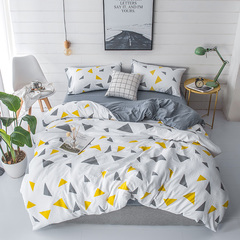 Yi Erman 4Pcs Bedding Sets For Bedroom As Picture 5*6 love 5*6