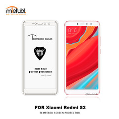 RedmiS2  screen protectionfilm full screen coveragetempered glass membraneone bodyglue fullpackagewhite 5.99inch