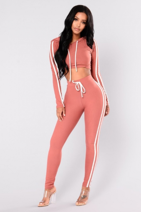 b21e845976f0c Women Sport Suit Fitness 2PCS Casual set long sleeves Tops Sports Workout  Leggings Sexy High Waist