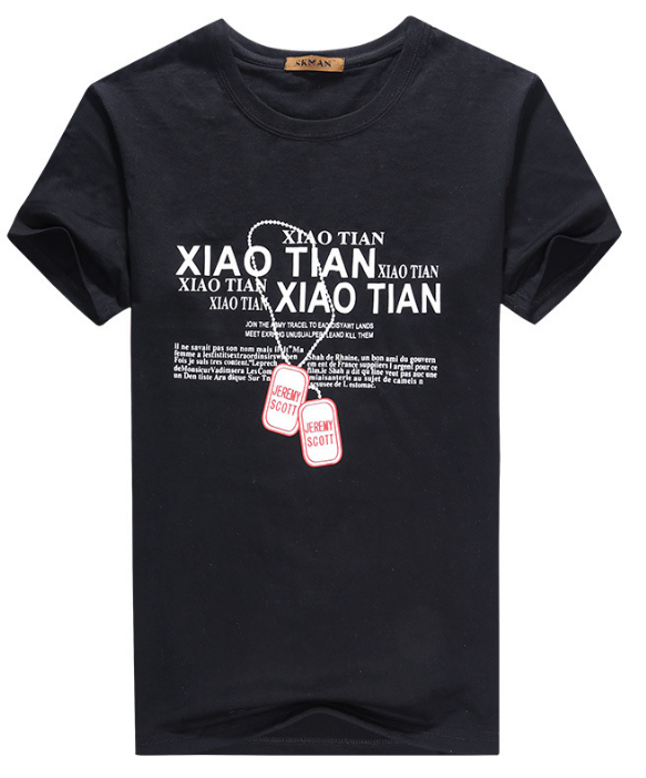 5ca1a36aa Simple creative design line cross Print cotton T Shirts Men Summer Style Short  Sleeve Men t
