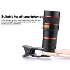 8X Optical Zoom Telescope Camera Lens for Mobile Phone For iPhone 4 4S 5 8X