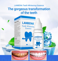 LANBENA Teeth Whitening Essence Powder Oral Hygiene Cleansing Removes Plaque Stains Toothpaste white 7.8cm*2.5cm*4cm